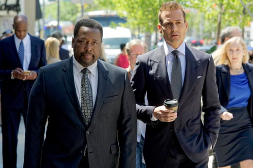 Robert and Harvey - Suits