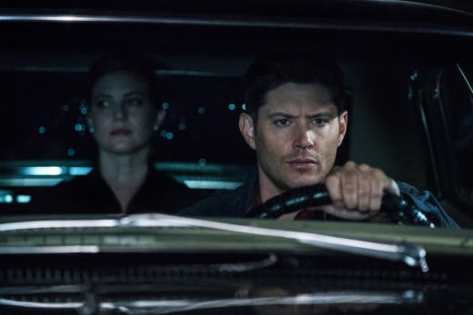 Toni in the Impala - Supernatural Season 12 Episode 21
