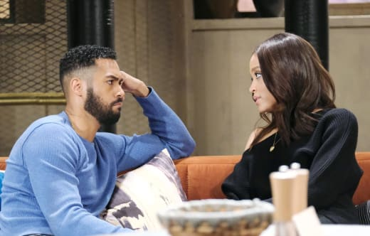 Lani Learns Kristen Is On the Loose - Days of Our Lives