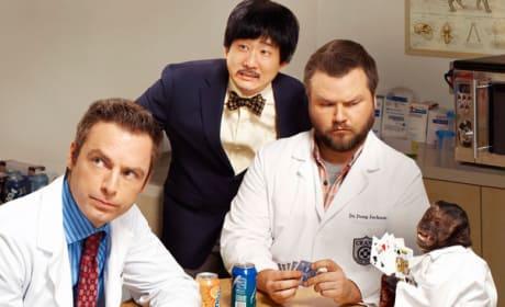 Animal Practice Cast Photo
