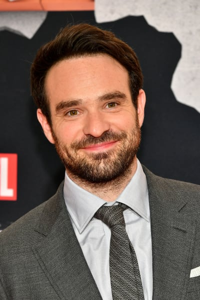 Charlie Cox at Defenders Event