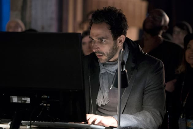 Aram gets into hacking - The Blacklist Season 4 Episode 14