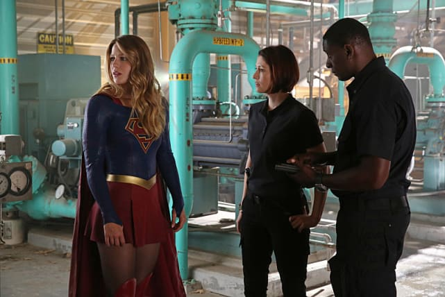 Supergirl stronger together