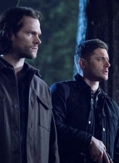 Hands Up - Supernatural Season 14 Episode 16