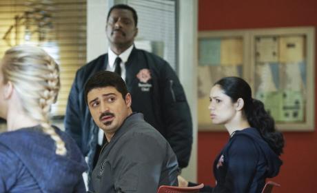 A Tense Arrival - Chicago Fire Season 5 Episode 13