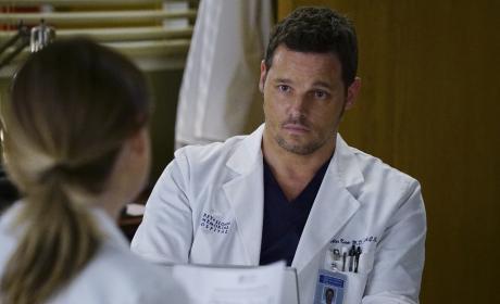 Calling Mer Out - Grey's Anatomy Season 13 Episode 15