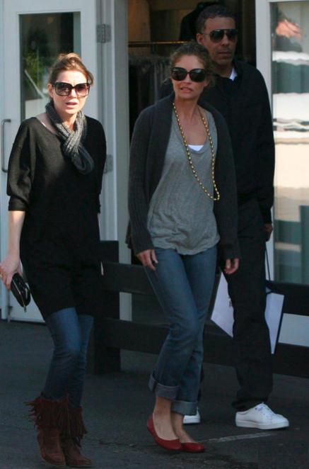 Ellen, Chris and Rebecca