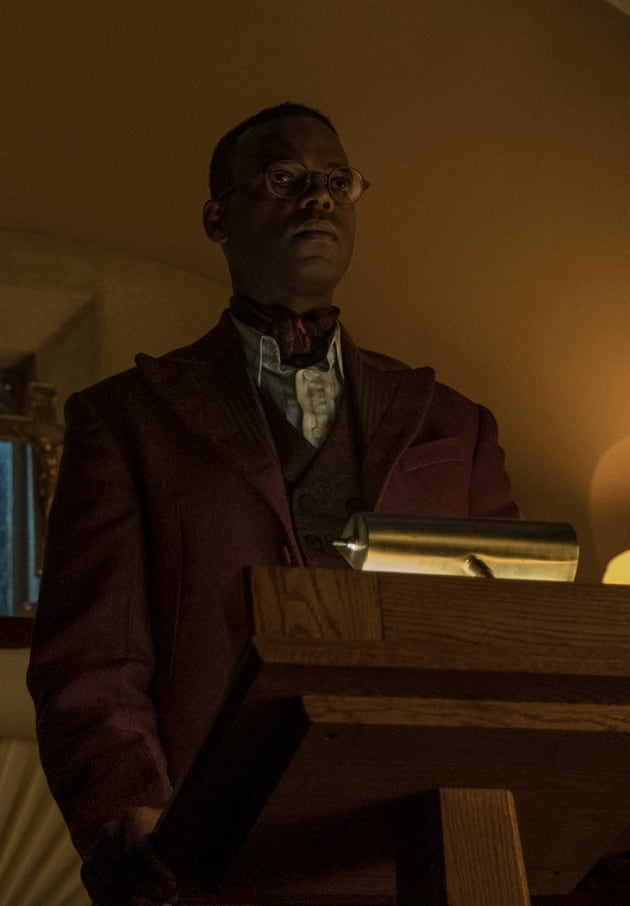 Ibis at the Pulpit - American Gods Season 2 Episode 5