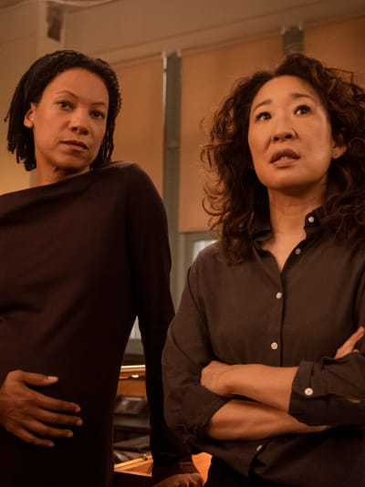 Jess and Eve - Killing Eve Season 2 Episode 4