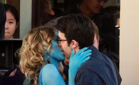 A Blue Kiss
