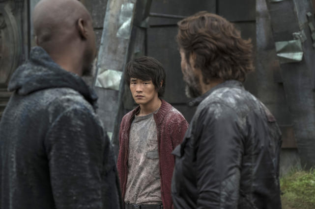 Monty – The 100 Season 4 Episode 6