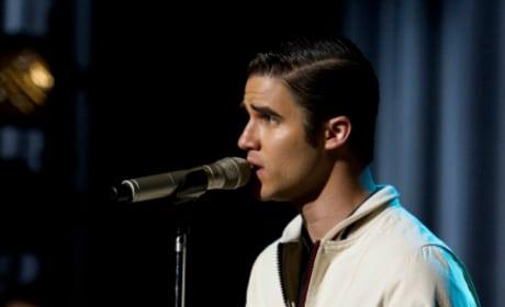 Blaine on the Mic