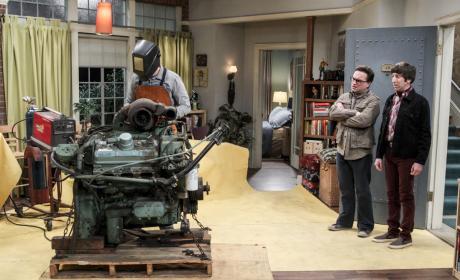 Sheldon Has a Train Set! - The Big Bang Theory Season 10 Episode 15