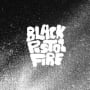 Black pistol fire bottle rocket