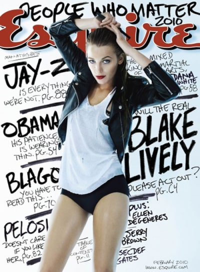 Esquire Cover Girl