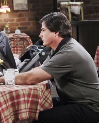 Sami and Lucas Argue / Tall - Days of Our Lives