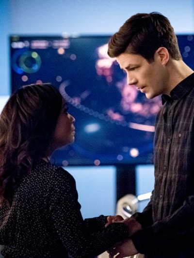 Cecile and Barry - The Flash Season 6 Episode 17