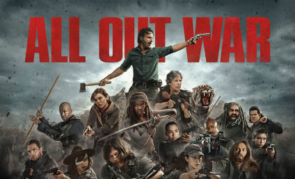 The Walking Dead Season Premiere Photos: It's War!