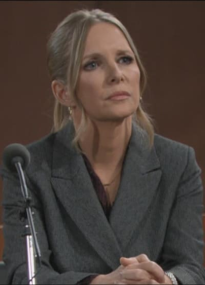 Christine at Trial - The Young and the Restless