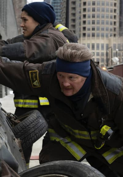 Kidd and Mouch - Chicago Fire Season 9 Episode 8