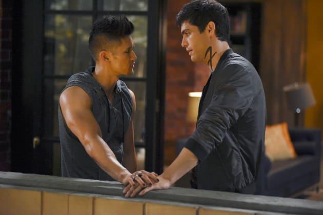 Alec and Magnus - Shadowhunters