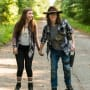 Carl and Enid - The Walking Dead Season 7 Episode 5