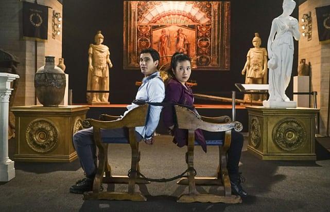 The museum heist scorpion