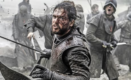 Jon Snow in Battle - Game of Thrones Season 6 Episode 9