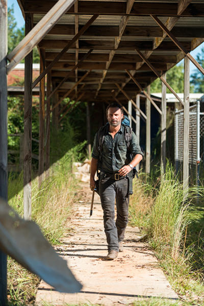 Rick takes a walk - The Walking Dead Season 7 Episode 12