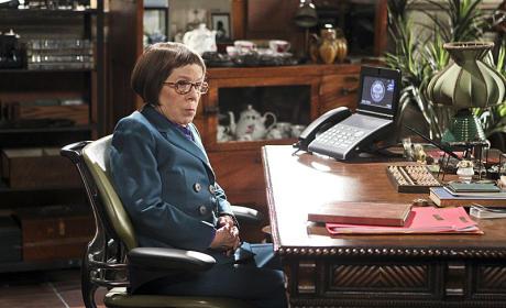 Hetty at her Desk