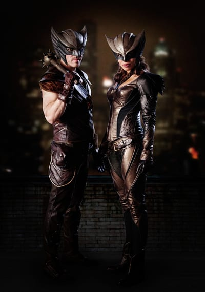 Hawkman and Hawkgirl - DC's Legends of Tomorrow