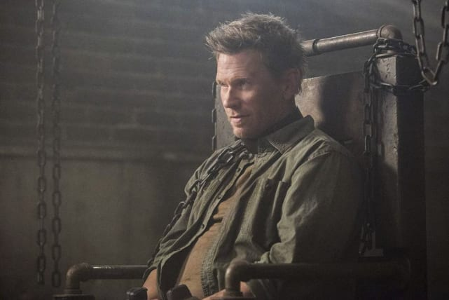 Lucifer stays seated - Supernatural Season 12 Episode 15