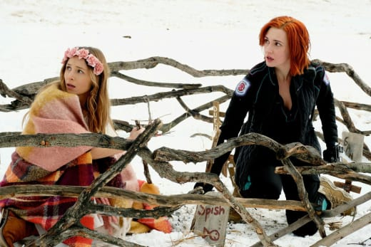 Waverly and Nicole Team Up - Wynonna Earp Season 2 Episode 11