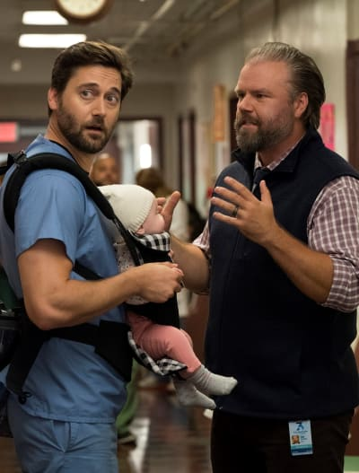 Daddy Daughter Time - Tall  - New Amsterdam Season 2 Episode 1