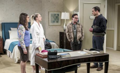 An Interruption - The Big Bang Theory Season 10 Episode 13