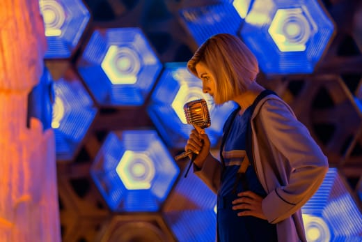 The Doctor At the Mic - Doctor Who Season 11 Episode 11