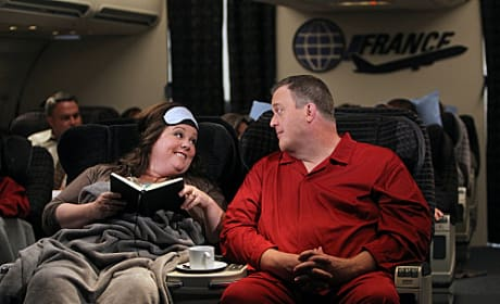 Molly & Mike in First Class
