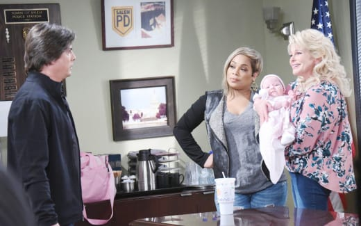 Is Lucas the Daddy? - Days of Our Lives