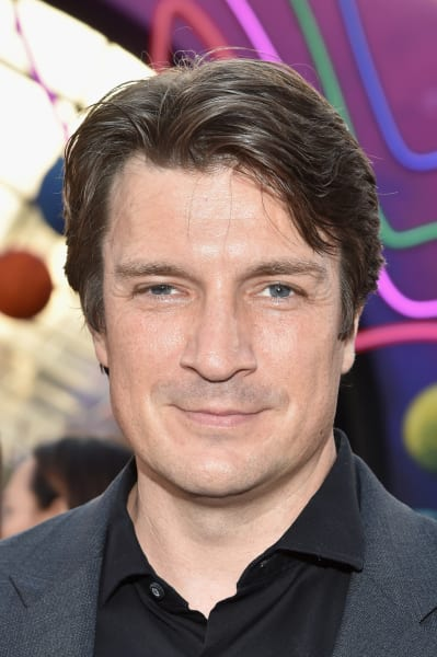 Nathan Fillion Attends Premiere
