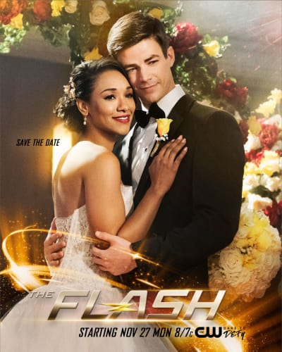 Save The Date - The Flash Season 4 Episode 8
