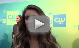 Nina Dobrev at the Upfronts