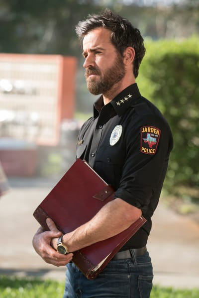 Kevin Holds a Book - The Leftovers