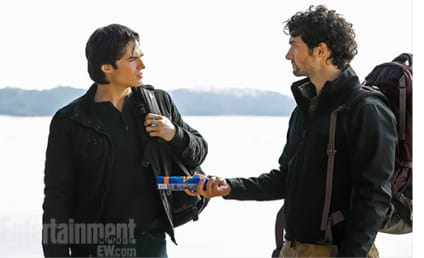 The Vampire Diaries First Look: Into the Wild!