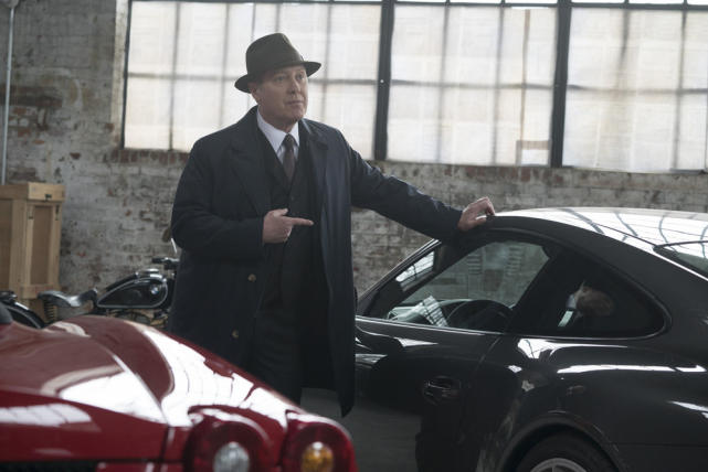 Red finds a new ride - The Blacklist Season 4 Episode 21