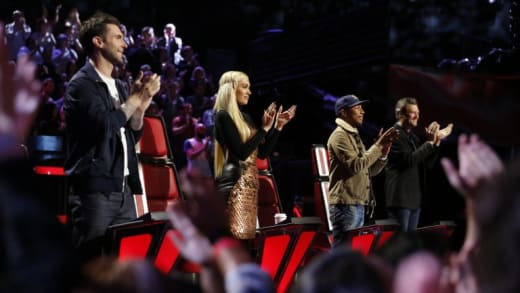 The Voice Judges Season 9