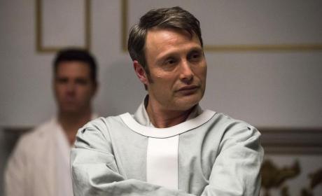 Hannibal looking smug - Hannibal Season 3 Episode 12