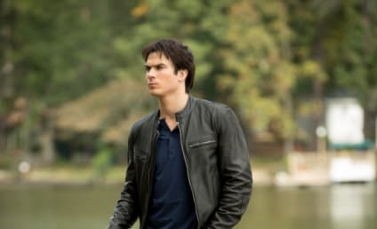 The Vampire Diaries Caption Contest Winner: Damon Meets Zoolander!