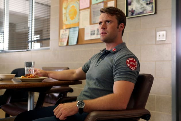 Casey At The Firehouse - Chicago Fire Season 5 Episode 1