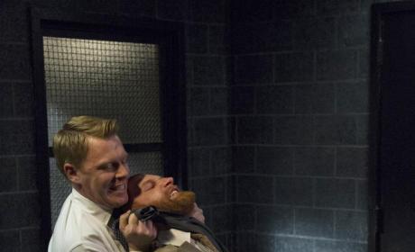 Ressler Strangles Garrote Man