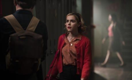 Sabrina at Greendale - Chilling Adventures of Sabrina Season 1 Episode 8